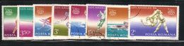 Roumanie 1984 Yvert 3513/22 Oblitérés (ac46) - Used Stamps