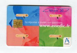 Telecarte 50u °_ 1269-Assedic 2-verte-Gem2-02.03-3362- R/V - France
