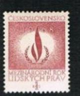 CECOSLOVACCHIA (CZECHOSLOVAKIA) - SG 1724  - 1968  HUMAN RIGHTS  DAY     - MINT** - Czechoslovakia