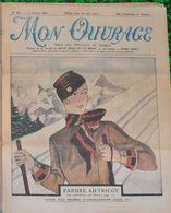 MON OUVRAGE - 14 NUMEROS ANNEE 1935 & 2 N° 1936 - Fashion