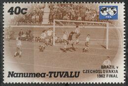 Czechoslovakia Brasil Brazil Final - Soccer Football - 1962 CHILE FIFA World Championchip CUP 1985 Nanumea Tuvalu - Sin Clasificación