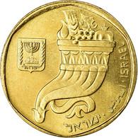 Monnaie, Israel, 5 Sheqalim, 1984, SPL, Aluminum-Bronze, KM:118 - Israel