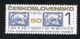 CECOSLOVACCHIA (CZECHOSLOVAKIA) - SG 1801  - 1968  STAMP DAY  - MINT** - Czechoslovakia