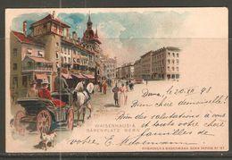 Carte P De 1898 ( Berne / Waisenhaus &  Bärenplatz ) - BE Berne