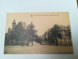 Bruxelles (Uccle) - Avenue Brugmann + Tram. Voyagée 1925. Cliché F. Walschaerts - Brussel (Stad)