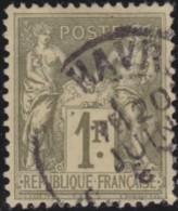 France .    Yvert       .   82       .         O     .       Oblitéré  .   /   .   Cancelled - 1876-1898 Sage (Type II)