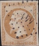 France .    Yvert       .   13     .         O     .       Oblitéré  .   /   .   Cancelled - 1853-1860 Napoléon III