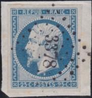 France .    Yvert       .   10 Sur Papier   .         O     .       Oblitéré  .   /   .   Cancelled - 1852 Louis-Napoleon
