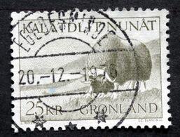 Greenland 1969  Musk Ox Minr.74 EGEDESMINDE 20-12-1976  ( Lot D 2690) - Gebruikt