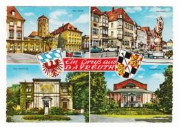 Ein Gruss Aus Bayreuth - 4 Ansichten - 1969 - Bayreuth