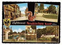Luftkurort Neukirchen (Knüll) - 5 Ansichten - Schwalm-Eder-Kreis (Homberg) - 1963 - Homberg