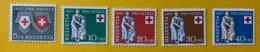10451 - Pro Patria 1957 Nos 81-85 *** Neufs / MNH / Postfrisch - Pro Patria