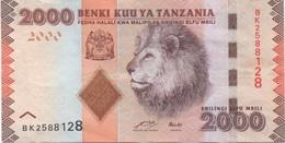 Tanzanie : 2000 Shilingi Lion ND : Bon état - Tanzania