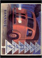 PLAQUETTE PUBLICITAIRE CAMION PANHARD 1949 ZUVIC SERIE I.E. 5 MODELES PANHARD LEVASSOR SOMUA WILLEME - Camion