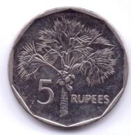 SEYCHELLES 2010: 5 Rupees, Magnetic, KM 51.3 - Seychelles