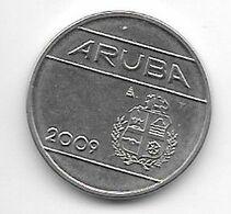 *aruba 25 Cents 2009  Km 3  Unc - [ 4] Colonies