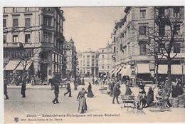 Zürich - Bahnhofstrasse-Sihlhofgasse - Seidenhof - 1908       (P-265-00501) - ZH Zurich