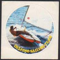 Stikers Delfino Sailing Team Abbigliamento Sportivo Vela Sportswear Vêtements De Sport - Voile FAS00053 - Sammelbilder, Sticker