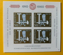 10455 - Pro Patria 1960 Bloc  No 102 *** Neuf / MNH / Postfrisch - Pro Patria