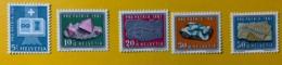 10457 - Pro Patria 1961 Nos 103-107 *** Neuf / MNH / Postfrisch - Pro Patria