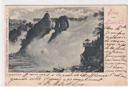 Gruss Vom Rheinfall - UPU-Frankatur - 1900      (P-265-00501) - SH Schaffhausen