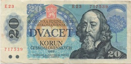 Tchécoslovaquie : 20 Korun 1988 - Qatar