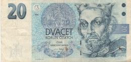 Tchéquie : 20 Korun 1994 - Repubblica Ceca