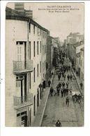 CPA-Carte Postale -France- Saint-Chamond-Sortie Des Aciéries De La Marine Rue Petit Godet 1905?VM19678 - Saint Chamond