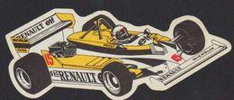 Stikers Renault Elf Alain Prost Automobilismo Formula 1 Motoring Automobile Formule 1 FAS00055 - Sammelbilder, Sticker