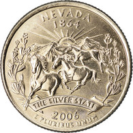 Monnaie, États-Unis, Nevada, Quarter, 2006, U.S. Mint, Denver, Golden, SPL - Federal Issues