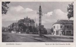 SARREBOURG - MOSELLE - (57) - PEU COURANTE CPA ALLEMANDE. - Sarrebourg