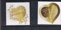 1669 1670  **  Y & T  Saint Valentin Cœur De Boucheron Timbres Réservé Pour Les Entreprises  24/51 - Adhesive Stamps