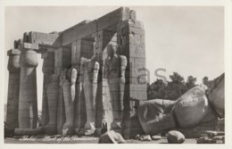 Egypt - Thebes - Part Of The Rameseum - Egypt