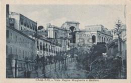 Italy - Cagliari - Viale Regina Margherita E Bastioni - Cagliari