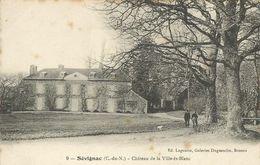 Sévignac  (22 - Côtes D'Armor) Château De La Ville  ès Blanc - Francia