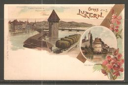 Carte P ( Lucerne ) - LU Lucerne