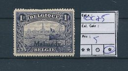 BELGIUM COB OC75 LH - [OC55/105] Eupen/Malmedy