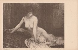Cartolina - Postcard / Non Viaggiata - Unsent / V. Bukovac - Donnina - Malerei & Gemälde