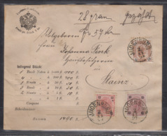 Österreich Judenburg 2.11.94  Vordruckbrief MiF 55,56,65 Nach Stainz , Rs. Gesiegelt - Covers & Documents