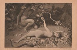 Cartolina - Postcard / Non Viaggiata - Unsent /  H.G. Jentsch,   Der Sundenfall - Malerei & Gemälde