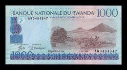 Ruanda Rwanda 1000 Francs 1998 Pick 27b SC UNC - Ruanda-Burundi
