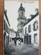 Chateauneuf Du Faou.le Clocher De L'église.ND 8 - Châteauneuf-du-Faou