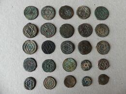 Lot 25 Pièces Anciennes Maroc - Maroc