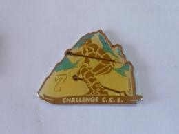 Pin's SKI, CHALLENGE C.C.E. - Sport Invernali