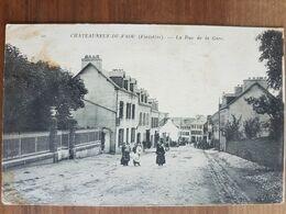 Chateauneuf Du Faou.la Rue De La Gare.ND 10 - Châteauneuf-du-Faou