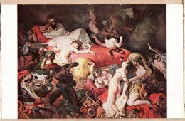 X75348 PARIS Musée Du LOUVRE Eugène DELACROIX La Mort De SARDANAPALE  Editions NOMIS 5890 - Musei