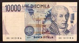10000 Lire Alessandro Volta Serie Sostitutiva XK 1998   LOTTO 3289 - [ 2] 1946-… Republik