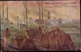 Cp Zabrze Hindenburg Schlesien, Donnersmarckhütte, Abstimmungsgebiet Oberschlesien - Schlesien