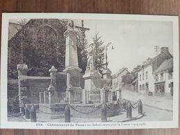 Chateauneuf Du Faou à Ses Enfants Morts.monument Aux Morts.édition Le Doaré 1544 - Châteauneuf-du-Faou