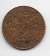 *suriname 1  Cent 1959  Km 10a   Vf+ - Suriname 1975 - ...